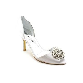 Audrey Brooke Taylor   Peep-Toe Canvas  Heels
