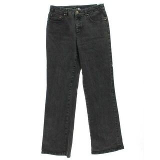 Jones New York Womens Stretch Slimming Bootcut Jeans - 12