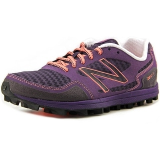 New Balance WT00 Women D Round Toe Synthetic Purple Trail Running