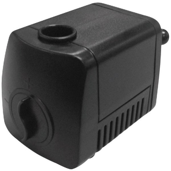 Beckett 7202610 Auto Shut-Off Fountain Pump, 130 GPH, Black