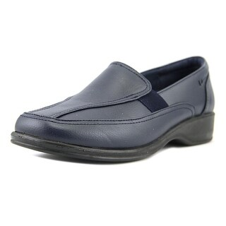 Easy Street Midge Square Toe Synthetic Loafer