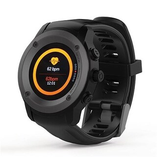 Supersonic SC-69SW Bluetooth Smartwatch with Heart Rate & GPS