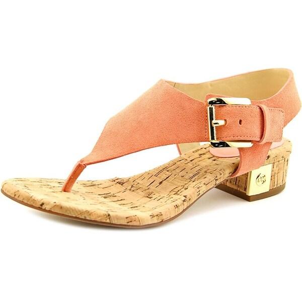 ea2ff8ccb9b8 Shop Michael Michael Kors London Thong Women Peach Sandals - Free ...
