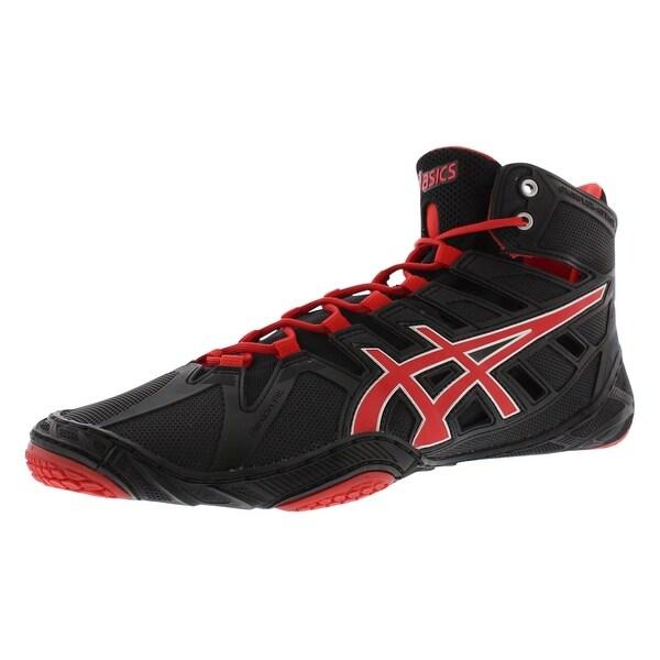 Asics Omniflex Attack Wrestling Boot Wrestling Men's Shoes - 12 d(m) us