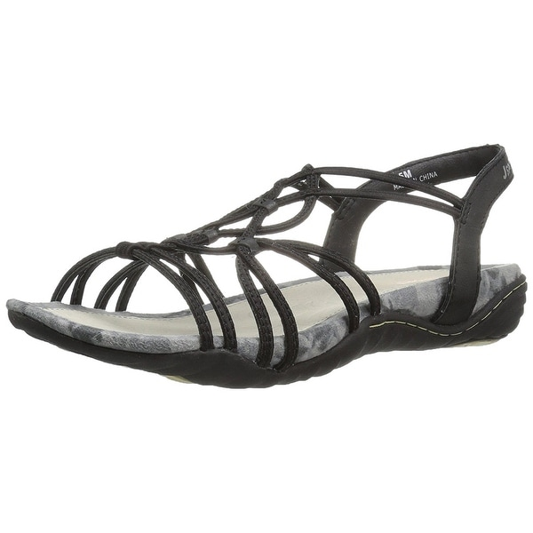 Jambu Womens April Open Toe Casual Gladiator Sandals