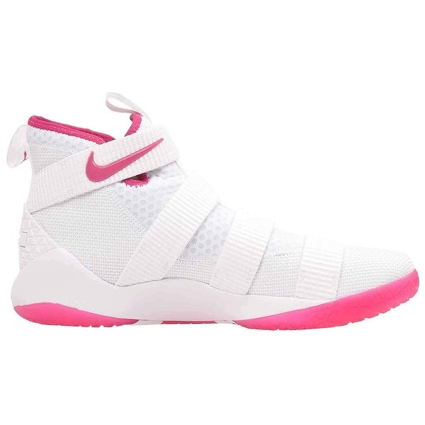 aed80452178c Shop Nike Mens Lebron Soldier XI Hight Top Basketball Shoes - Free ...