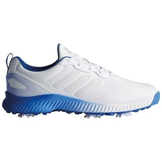 New Adidas Women's Response Bounce Cloud White/Cloud White/Hi-Res Blue Golf Shoes F33665