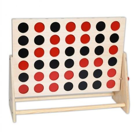 TickiT Wooden 4 In A Row Game