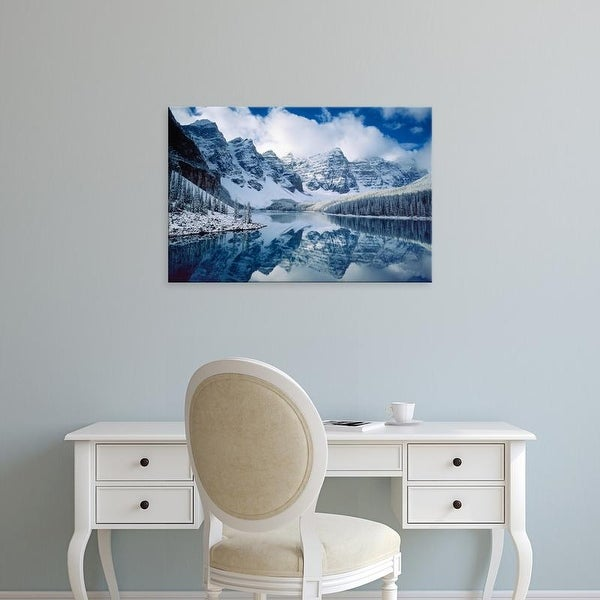 Easy Art Prints Alan Majchrowicz's 'Moraine Lake' Premium Canvas Art