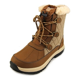 Bearpaw Bethany Women Round Toe Leather Winter Boot
