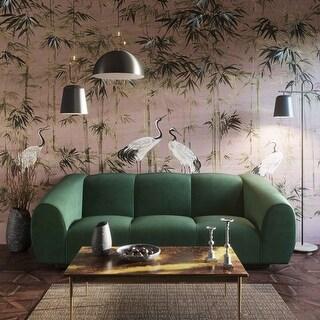 Link to Emmet Forest Green Velvet Sofa Similar Items in Living Room Furniture
