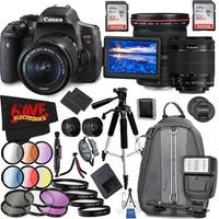 Canon EOS Rebel T6i DSLR Camera with 18-55mm Lens (Intl Model) and Canon EF 17-40mm f/4L USM Lens