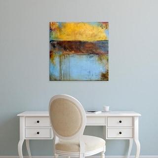 Easy Art Prints Erin Ashley's 'Crossroad 44' Premium Canvas Art
