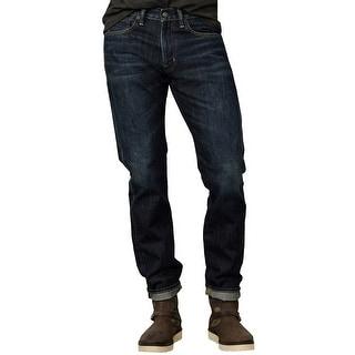 Denim and Supply Ralph Lauren Slim Fit Ekins Jeans 36W x 32L Dark Blue Wash