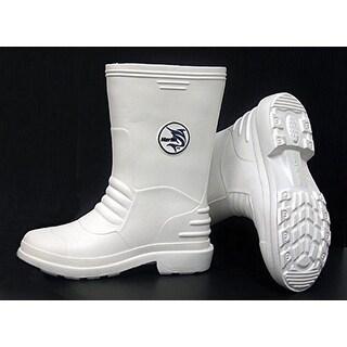 Marlin Male Lightweight Deck Boots, White, 11