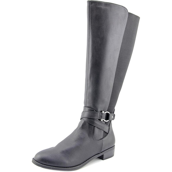 Karen Scott Davina Round Toe Synthetic Knee High Boot