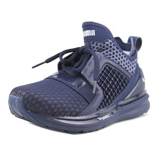 Puma Ignite Limitless Men Round Toe Synthetic Blue Sneakers