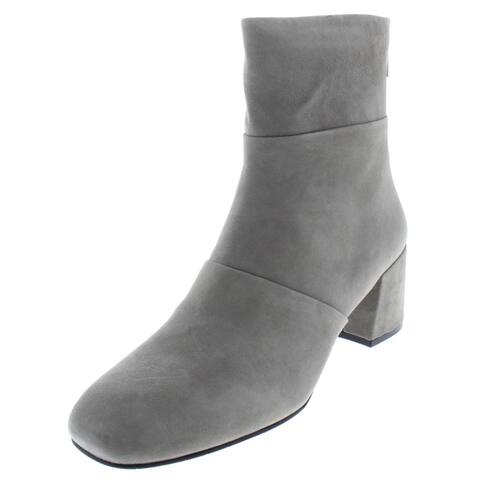 Kenneth Cole New York Womens Eryc Booties Suede Square Toe
