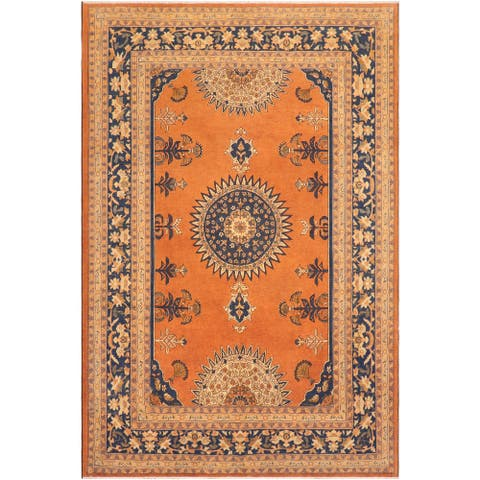 "Shabby Chic Ziegler Reda Hand Knotted Area Rug -8'3"" x 9'6"" - 8 ft. 3 in. X 9 ft. 6 in."