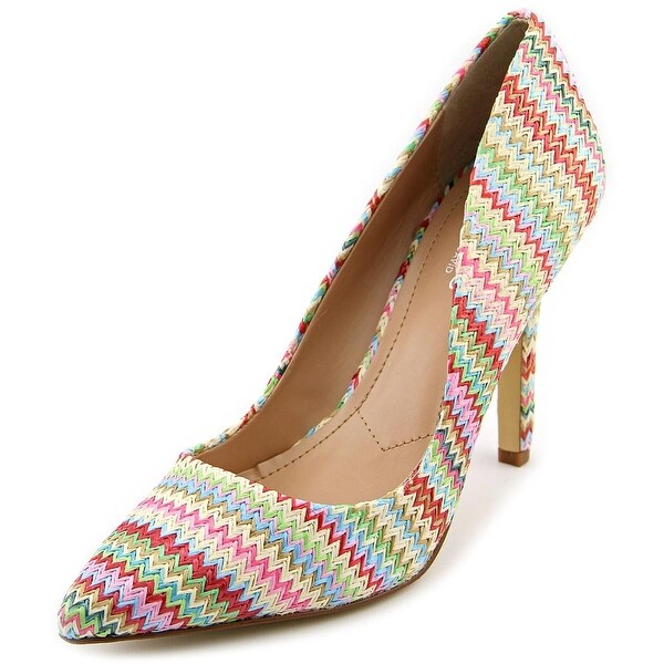Charles By Charles David Sweetness Women Pointed Toe Synthetic Multi Color Heels