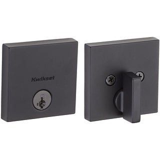 Kwikset 258SQT-S Downtown Low Profile Single Cylinder Deadbolt with SmartKey Technology (5 options available)