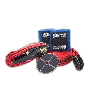 Slackline Industries Baseline Slackline, 50FT, Red SI00050