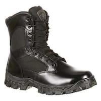 "Rocky Men's 8"" AlphaForce 2165 Black Leather"