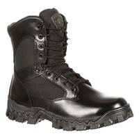 "Rocky Women's 8"" AlphaForce 4165 Black Leather"