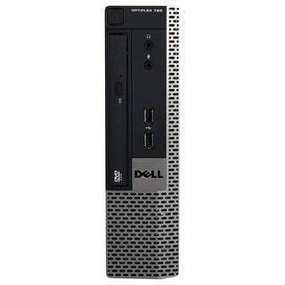 Dell OptiPlex 790 Desktop Computer USFF Intel Core I5 2400S 2.5G 4GB DDR3 500G Windows 7 Pro 1 Year Warranty (Refurbished)