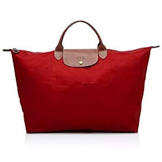 Link to LongChamp Womens Le Pliage Weekender Red Bag Similar Items in Shop By Style