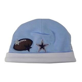 Dallas Cowboys Newborn Knit Cap Blue