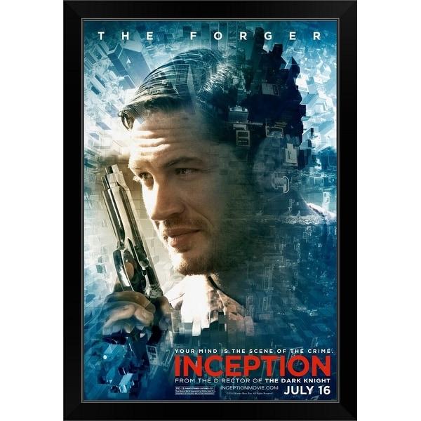 """Inception - Movie Poster"" Black Framed Print"