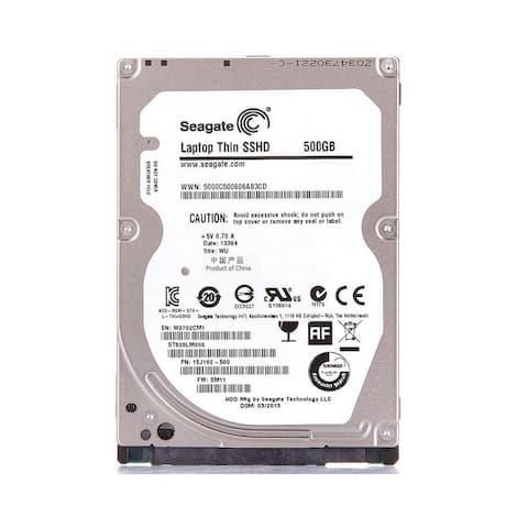 "Seagate Laptop SSHD 500GB SATA/600 5400RPM 64MB 2.5"" HHD (Certified Refurbished)"