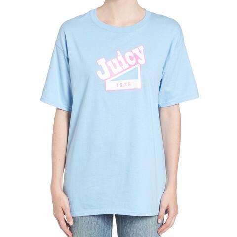 Hanes Women's Large Juicy 8 Crewneck Tee T-Shirt