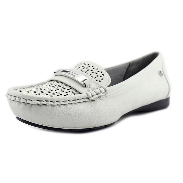 Life Stride Viva 2 Women Moc Toe Synthetic Gray Loafer