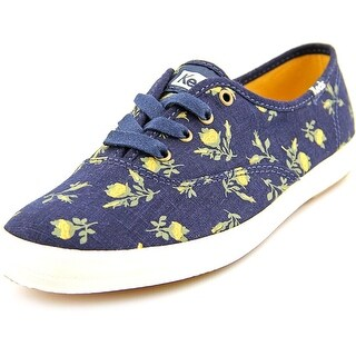 Keds CH Floral Round Toe Canvas Sneakers