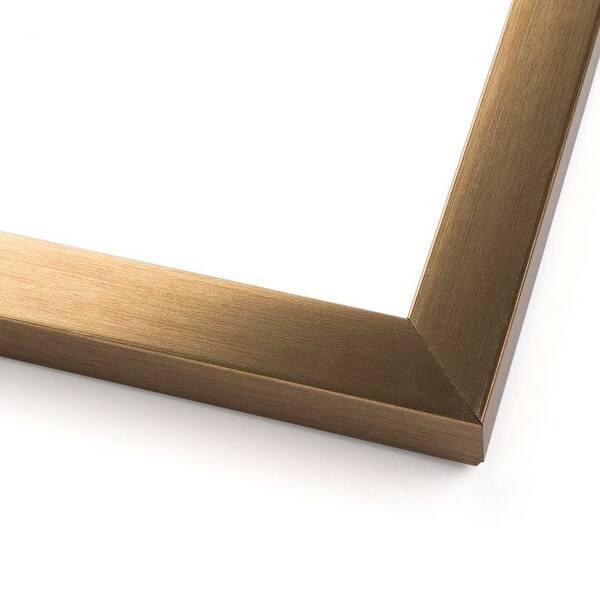 10x40 Metallic Bronze Wood Picture