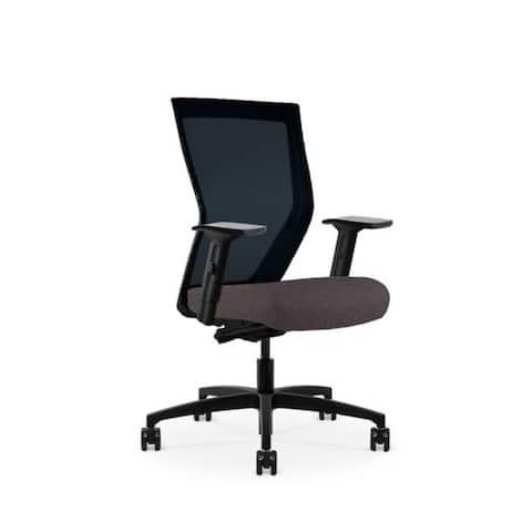Run II, Ergonomic High Back Mesh Chair, Synchro Tilt, Adjustable Arm, Built-In Natural Lumbar