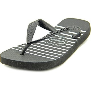 Havaianas H. Stripes Exp Open Toe Synthetic Flip Flop Sandal