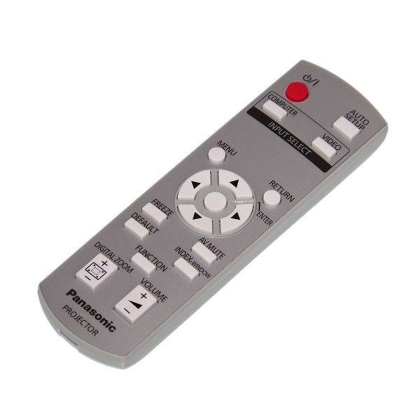 OEM Panasonic Remote Originally Shipped With: PTLB78, PT-LB78