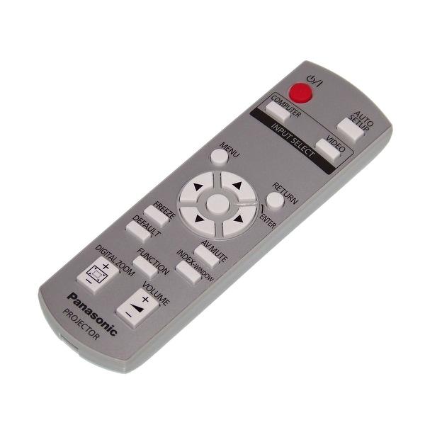 OEM Panasonic Remote Originally Shipped With: PTLB78VU, PT-LB78VU, PTLB75U, PT-LB75U, PTLB90, PT-LB90