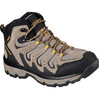 Skechers Men's Relaxed Fit Morson Gelson Hiking Boot Tan