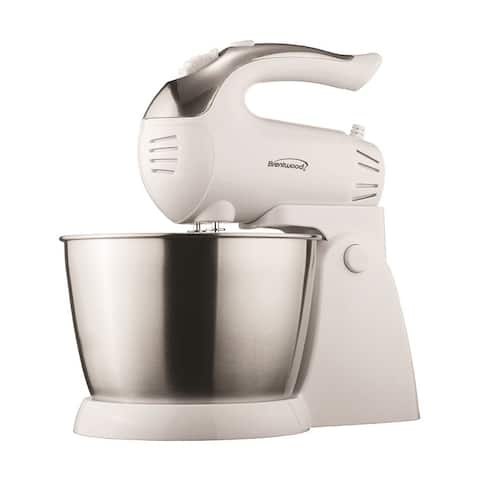 Brentwood Appliances SM-1152 Stand Mixer, White