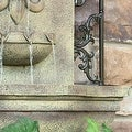 Sunnydaze French Lily Solar Outdoor Wall Fountain, Multiple Colors - Thumbnail 17