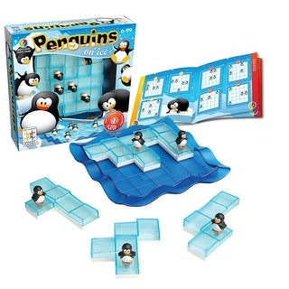 Penguins on Ice Brainteaser Puzzle Game - multi-color