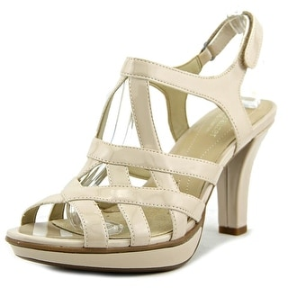 Naturalizer Doreen Open Toe Patent Leather Sandals