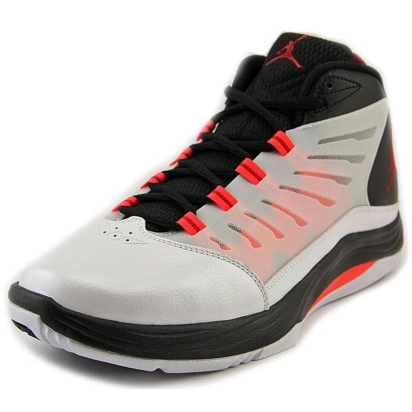 Jordan Prime Fly 2 Men Round Toe Leather White Basketball Shoe