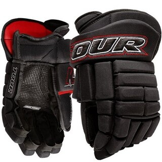 Tour Hockey Mens K-4 PRO 13in HOCKEY GLOVE, Black