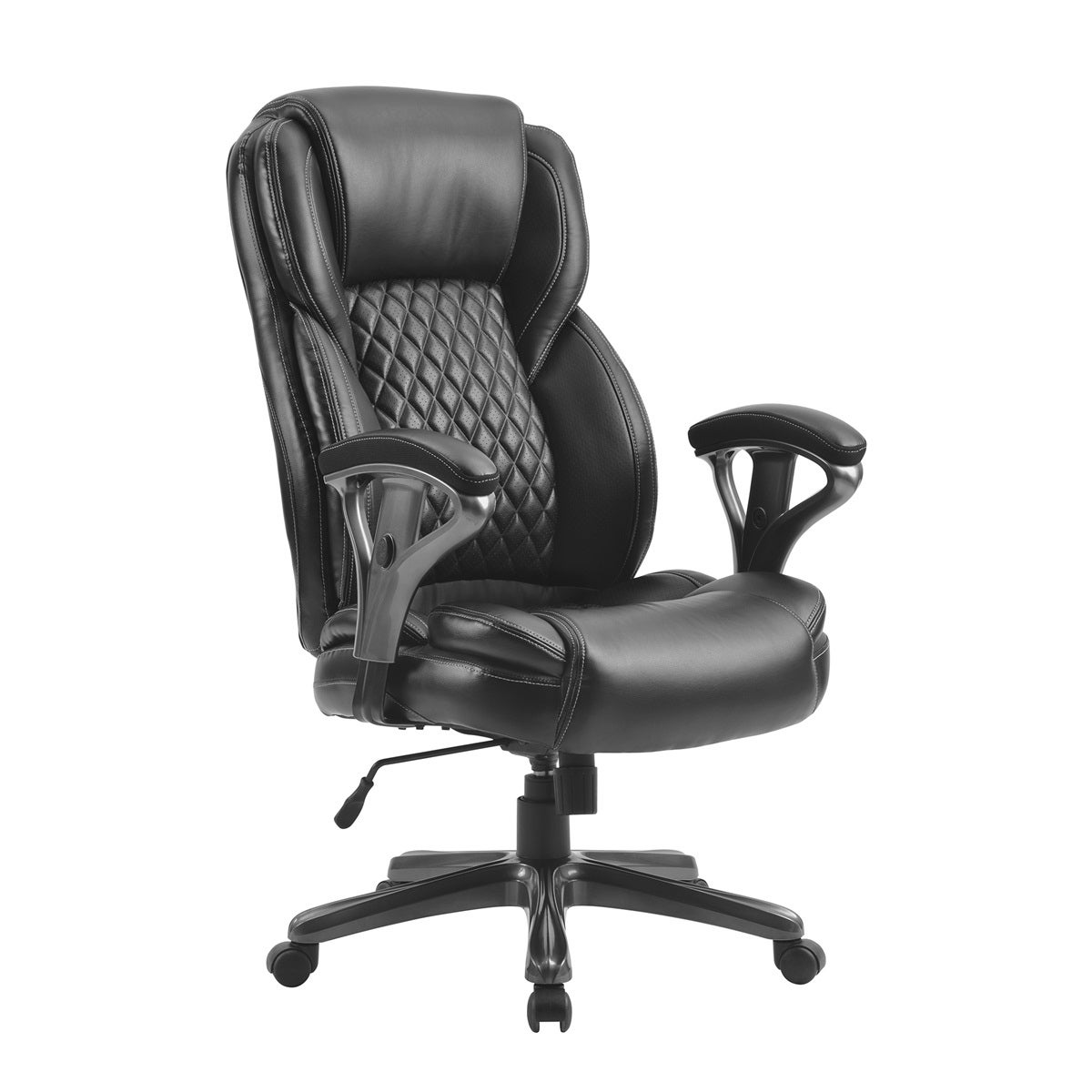 Shop Merax Big Tall Office High Back Managerial Chair Ergonomic Pu Leather Office Executive Chair For Home Office Racing Style On Sale Overstock 31887073