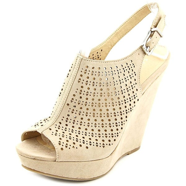 Chinese Laundry Memory Lane Open Toe Synthetic Wedge Sandal